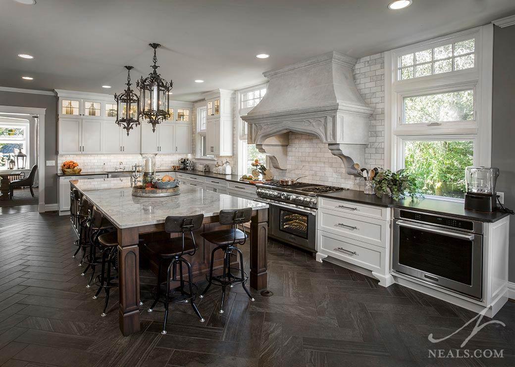 Kitchen Decor Cheap Kitchen Remodeling: Gothic Traditional Kitchen « Neals Design & Remodel