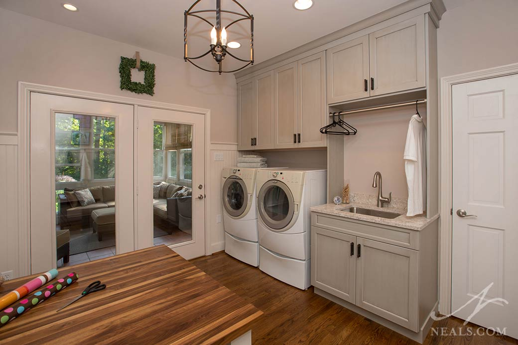 A laundry room remodel in Loveland, Ohio.