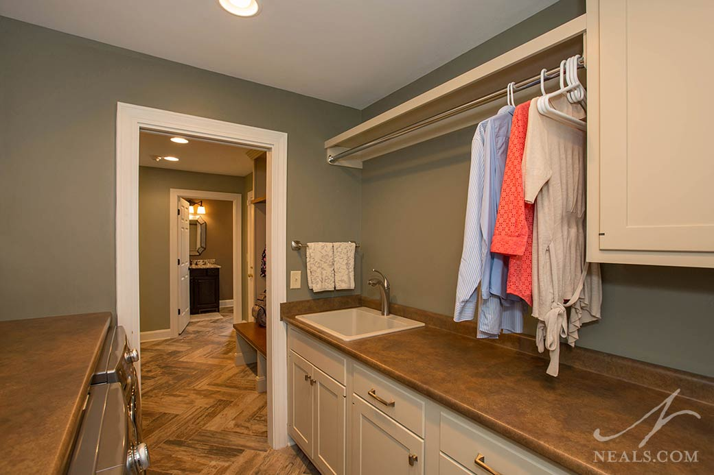 Farmhouse Style Mudroom remodel in Western Hills, OH