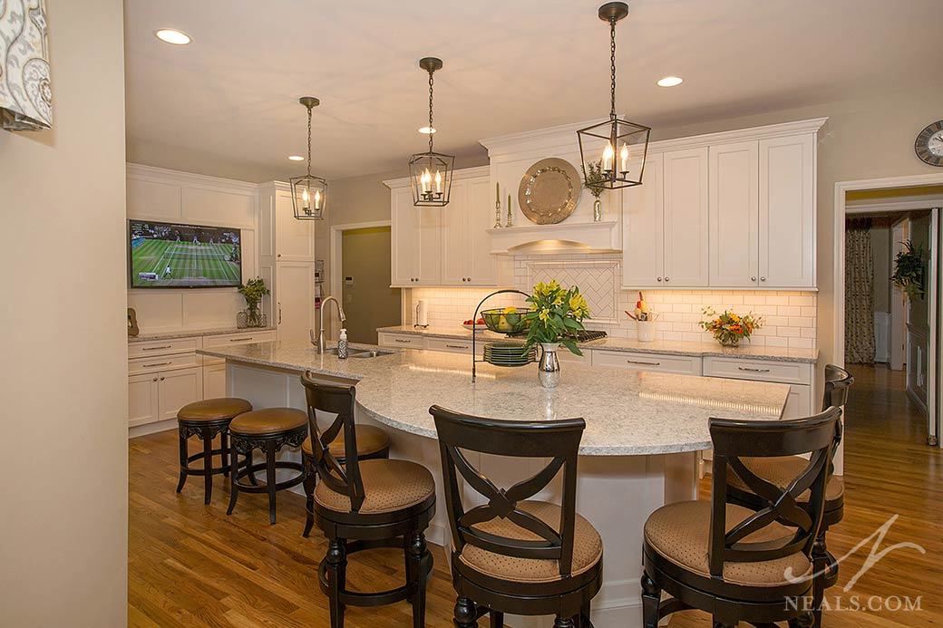 White Traditional Kitchen remodel in Loveland