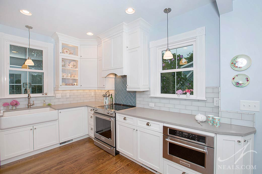 Cottage Style Kitchen « Neals Design & Remodel
