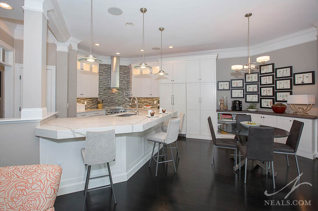 Modern Arts and Crafts Kitchen remodel in Montgomery