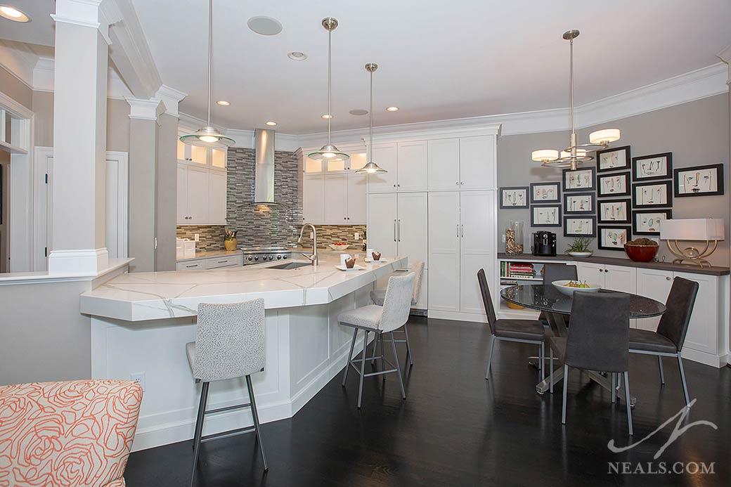 Modern Arts Crafts Kitchen Neals Design Remodel