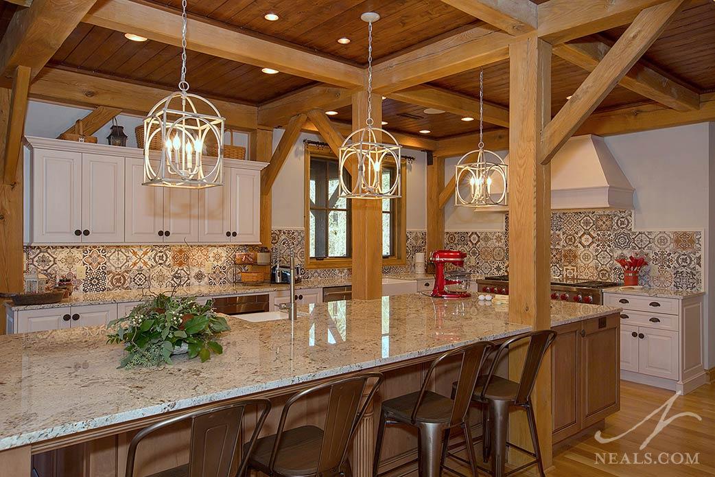 Stylish Farmhouse Kitchen