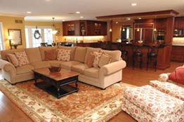 Open Family Room Addition