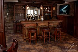 Reclaimed Rustic Bar