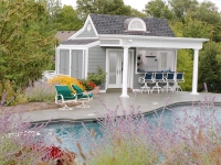 Nantucket-Inspired Pool House
