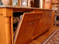 Wood Panel Dishwasher