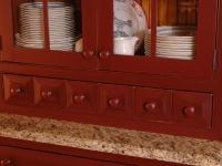 Customer China Buffet Cabinet