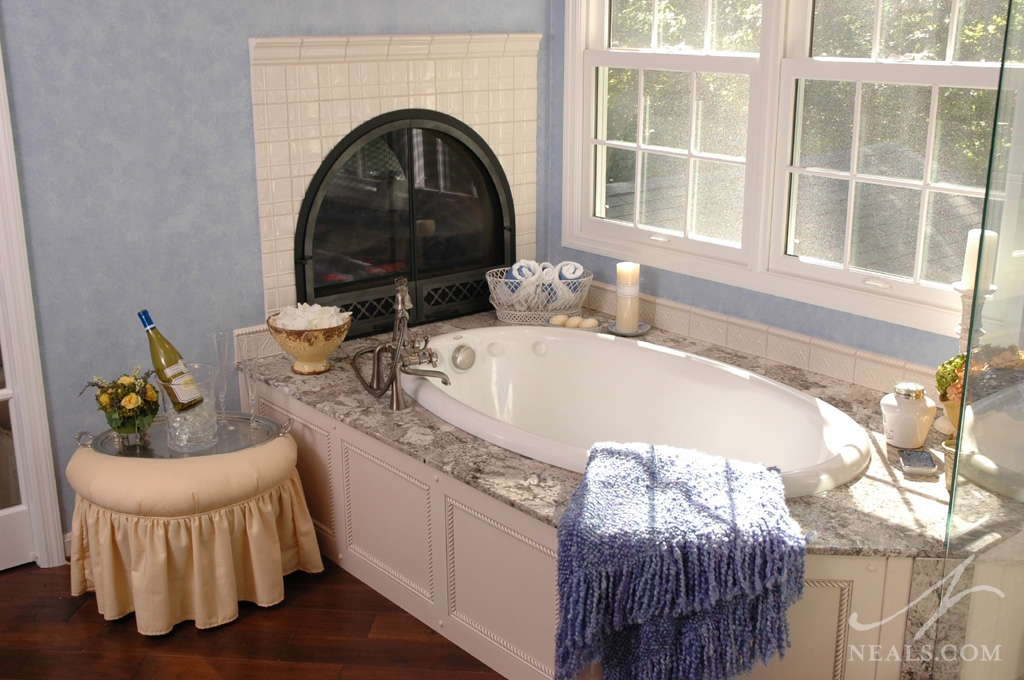 Bathroom Sets Luxury Reconditioned Bath Tub In Master Bedroom: Project Story-Bath-34041 « Neals Design & Remodel