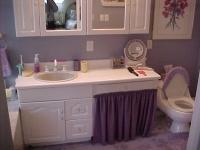 Master Bath, original vanity