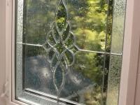 Leaded Window in Shower