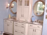 Double Vanity with storage