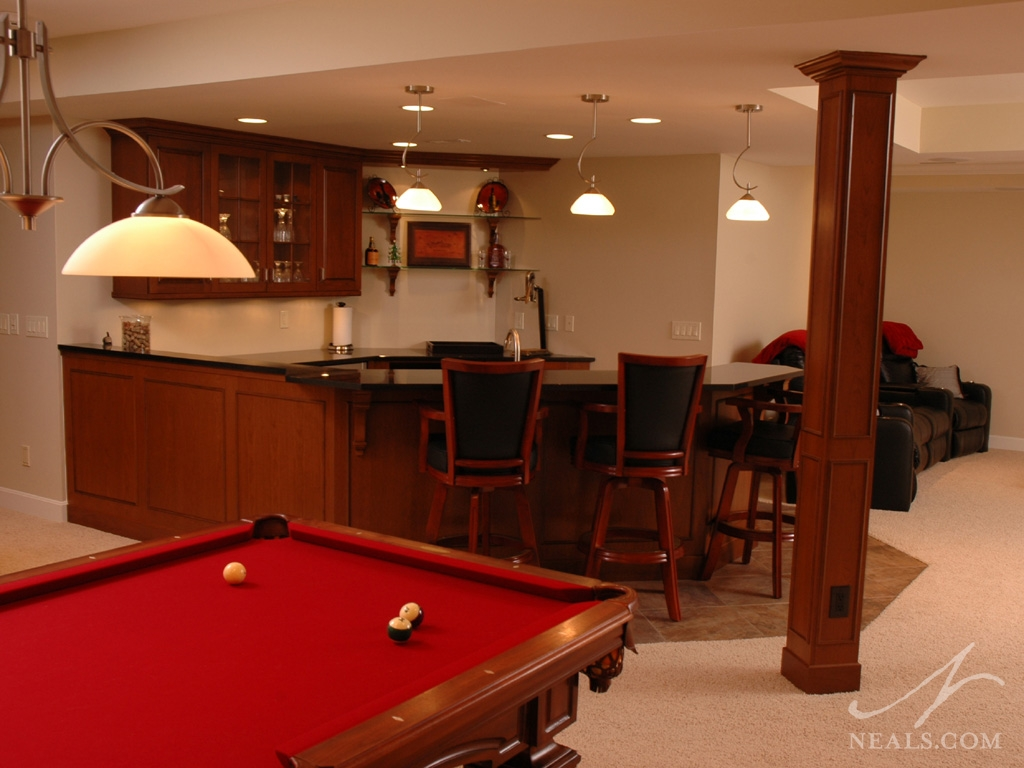 A custom entertainment space in Union, KY.