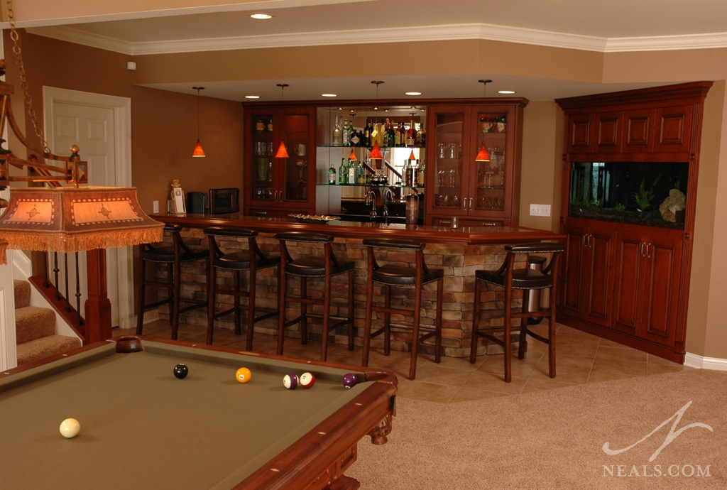 A bar and game room in Covedale, Ohio.
