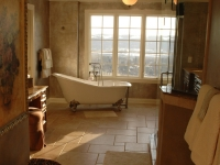 Large Master Bathroom with panoramic views