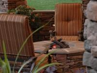 Outdoor Entertainment Area Retreat