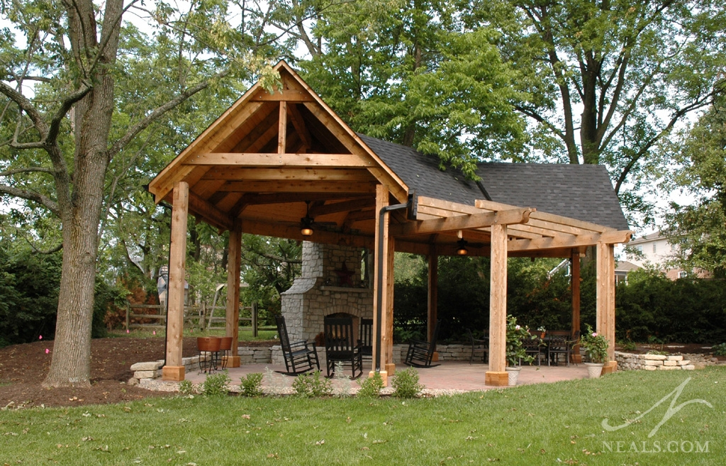 A park-inspired shelter in Newtown, Ohio.