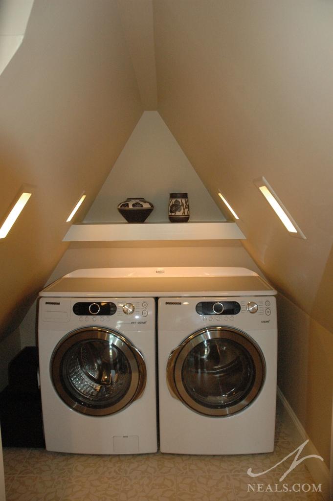 Attic Laundry Room Remodel Walnut Hills Oh