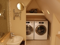 Attic Laundry Room