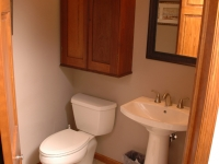 Master Bathroom Commode After