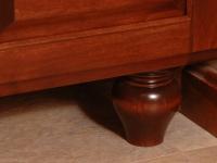 Vanity Cabinet Foot Detail