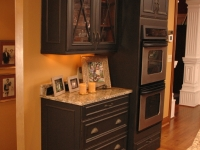 Double Oven Cabinet After