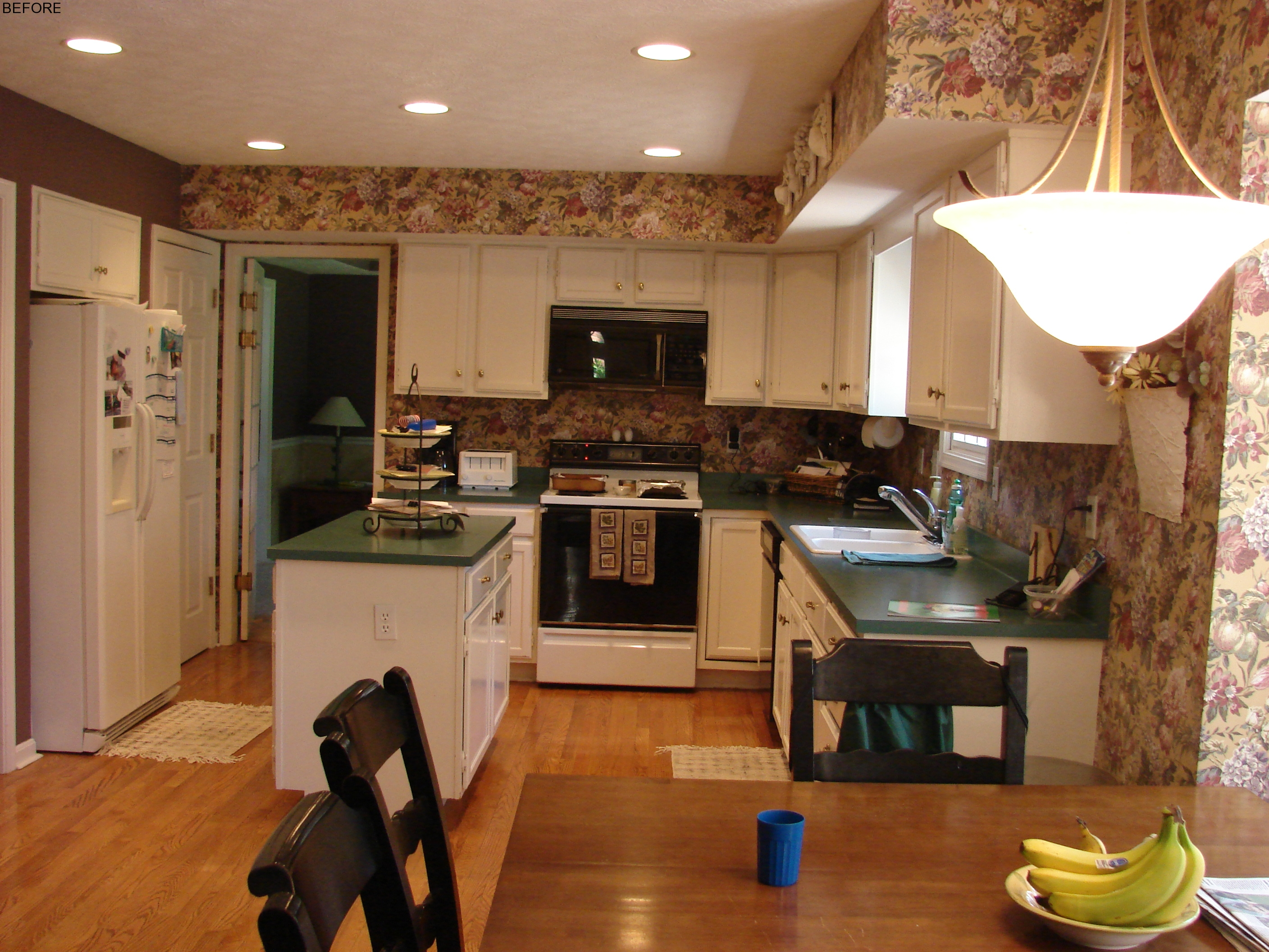 Traditional Brookhaven Kitchen Before