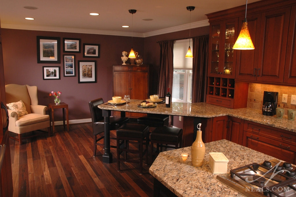 Open Traditional Kitchen 171 Neals Design Amp Remodel