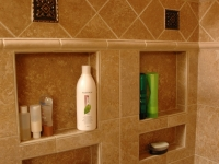 Niches in Shower