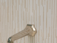 Tub Faucet and Tile Detail