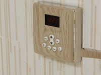 Shower Control and Tile Detail
