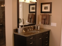 Efficient Master Bath Vanity