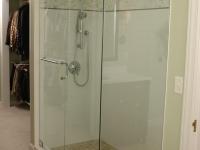 Bathroom After, New Shower