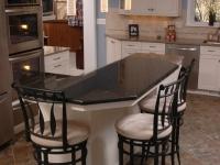 Custom Kitchen Island with Seating