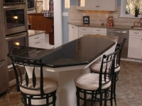 Multipurpose Kitchen Island with Bar-height Seating