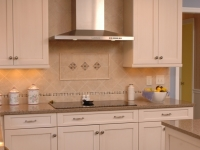 Cooktop with Contemporary Vent Hood