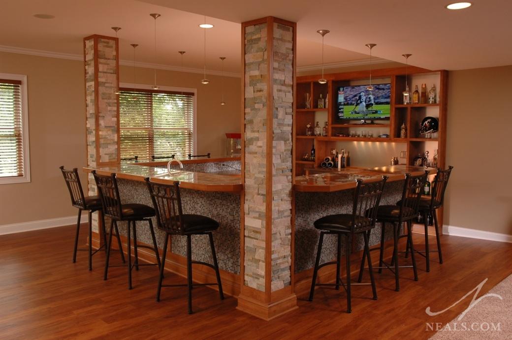 Sports Bar At Home 171 Neals Design Amp Remodel