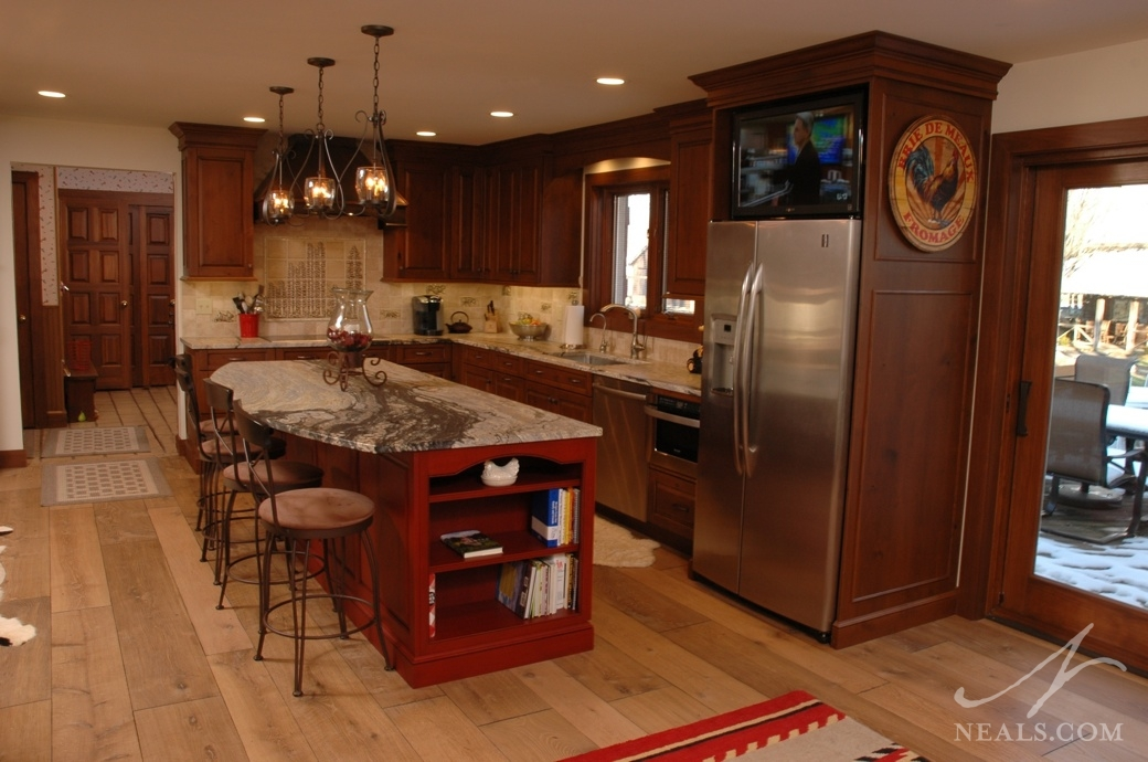 Rustic traditional kitchen maineville oh for Traditional rustic kitchen