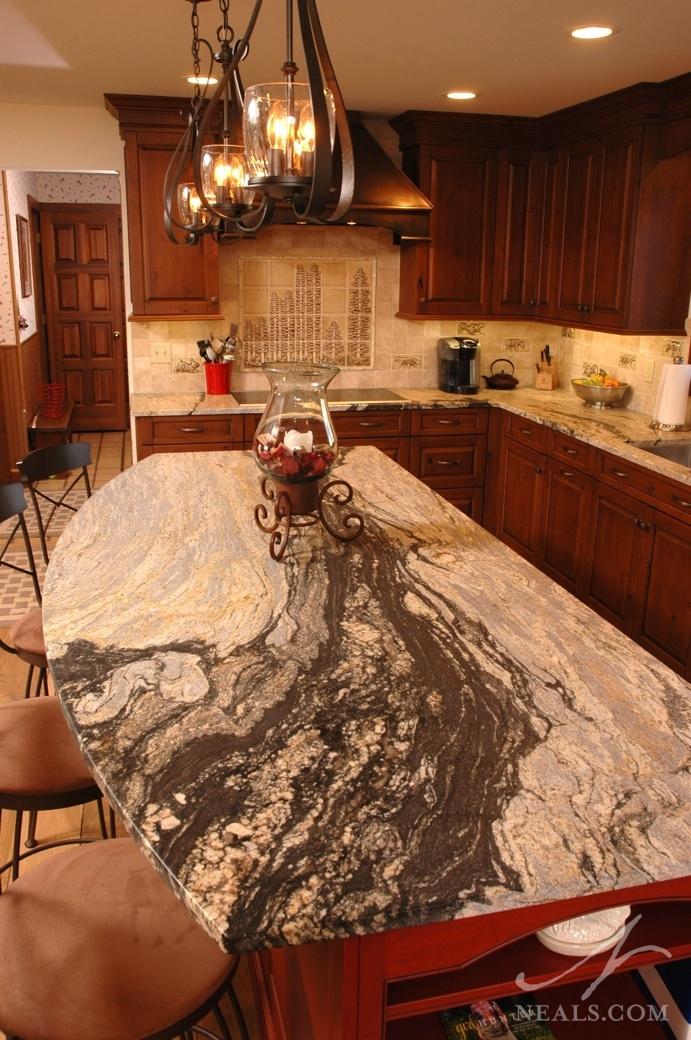 Granite Island Countertop