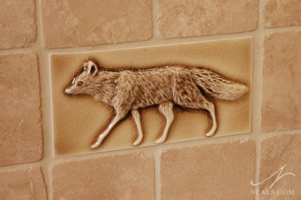 Nature-Inspired Tile Detail