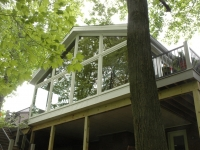 After, Sunroom from below