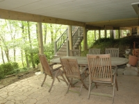 After, patio under sunroom