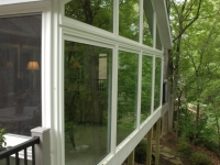 After, sunroom exterior