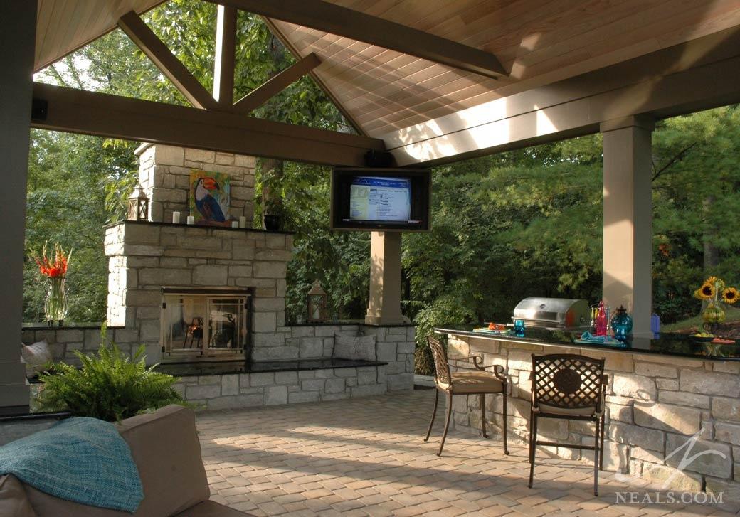 Poolside Pavilion 171 Neals Design Amp Remodel