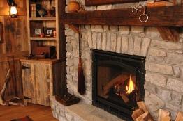 Barn Room Fireplace