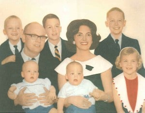 Old Photo of the Hendy Family