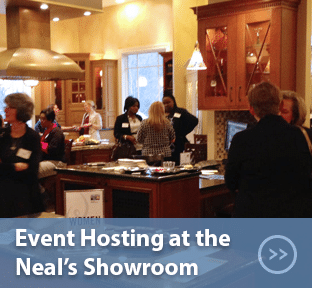 Event Hosting at the Neal's Showroom