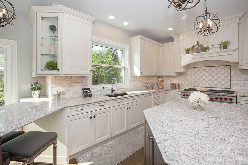 White Traditional Kitchen « Neals Design & Remodel