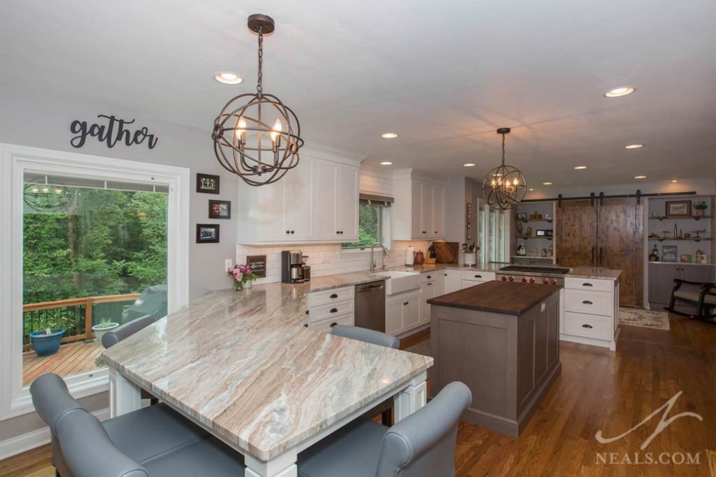 Country Chic Kitchen « Neals Design & Remodel